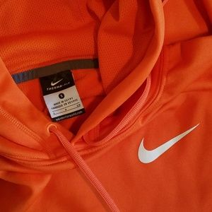 Nike Therma Fit Orange Hooded Pullover Small OSU